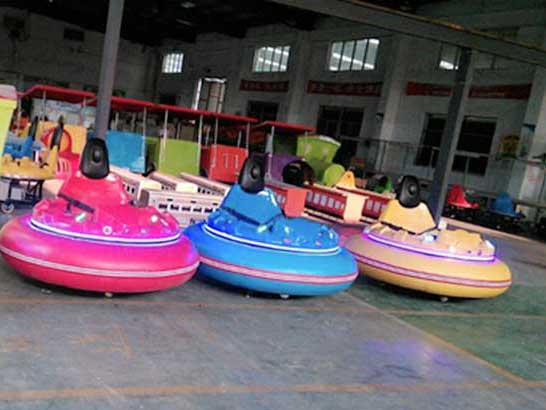 large inflatable bumper cars