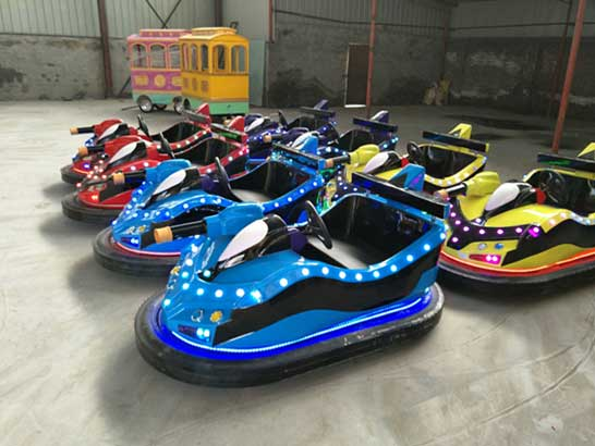 Handsome bumper cars