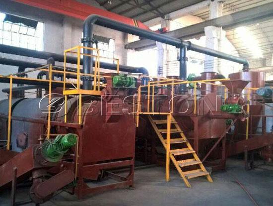 Sugarcane Bagasse Charcoal Making Machine