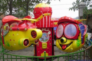 kiddie big eye plane ride