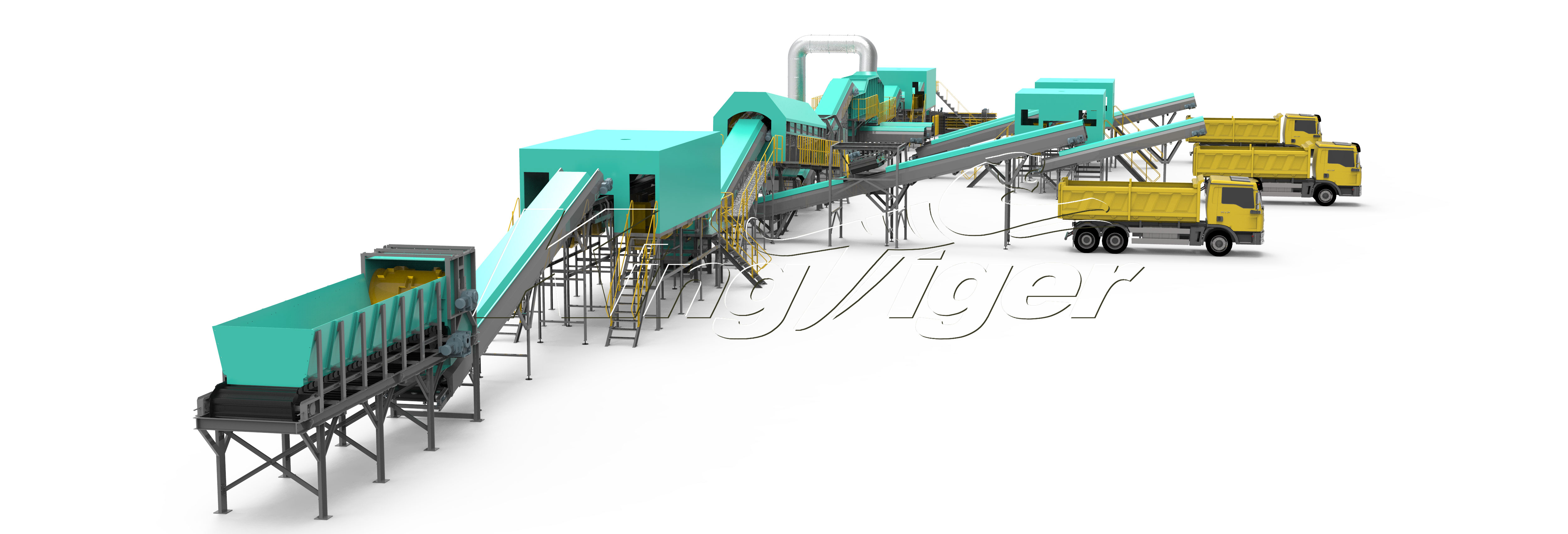 Municipal Solid Waste Sorting Machine